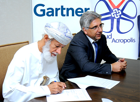 Gartner in Oman with CloudAcropolis